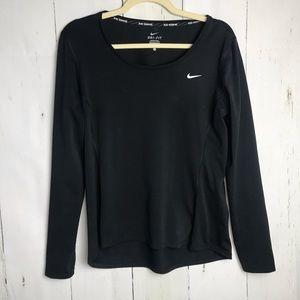 Nike Dri fit running long sleeve